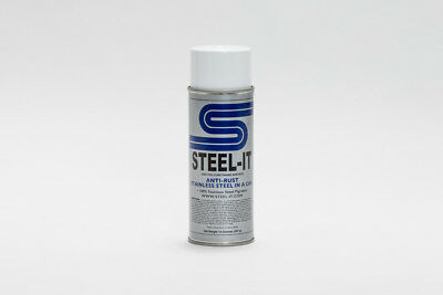 14oz STEEL-IT Stainless Steel Pigmented Aerosol Paint Spray Can (STEEL IT)