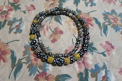 Antike Augenperlen Glasperlen Venedig - ANTIQUE VENETIAN FANCY EYE TRADE BEADS