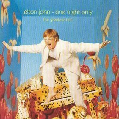 Elton John : One Night Only: The Greatest Hits CD (2000) ***NEW***