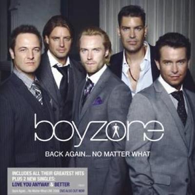 Boyzone : Back Again... No Matter What: The Greatest Hits CD (2008) ***NEW***