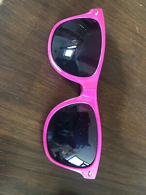 New Joules Bright Pink Plastic Sunglasses Branded