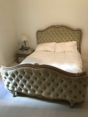 Stunning French Vintage Full Corbeille Double Bed- Louis XV Style