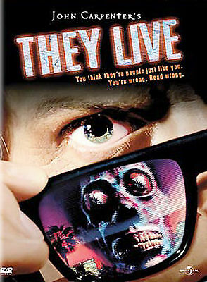 They Live New DVD! Ships Fast!