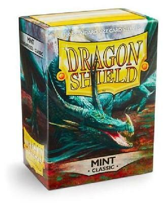Dragon Shield Classic Mint 100ct Standard Sized Sleeves (AT-10025) new