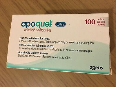 APOQUEL 76 Tablets 5.4 mg for dogs