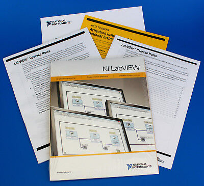 NEW National Instruments NI LabVIEW 8.6.1 Platform DVD for Windows VISTA/XP/2000