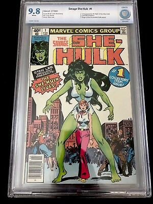 Savage She-Hulk #1 Cbcs 9.8 Marvel Comics