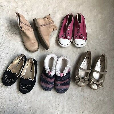 e05613e9b95 Toddler Preschooler Girls Size 9 Shoes Boot Lot Old Navy Toms Converse  Cherokee