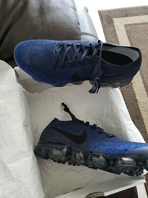 Nike Air VaporMax Flyknit 'Midnight Navy' 849558-400 Size11m 11.5 and 12m