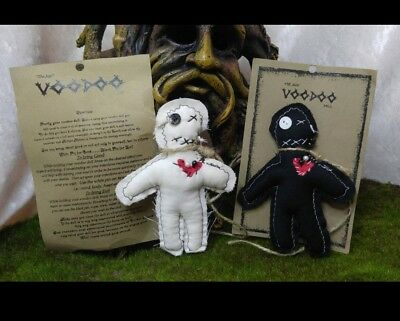 Handmade Juju Voodoo Doll **Anger Management Gift** Authentic Real *Magic Dust*