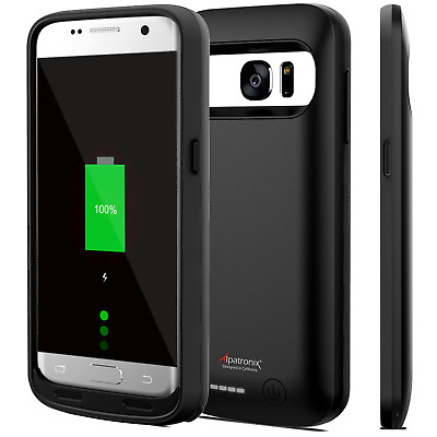 Alpatronix Samsung Galaxy S7 Slim Battery Charging Case Charger Cover Power Bank
