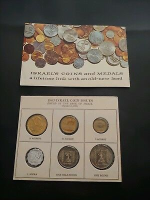 1963 Isreali Mint Set. Rare. Free Same Day Shipping