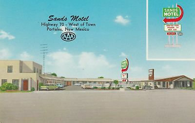 c1950s Sands Motel Highway 70 PORTALES NM NEW MEXICO unused