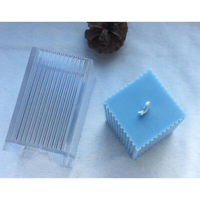 Sawtooth Cube Shapes Candle Making Molds Model Candle Mould DIY Candle Craft