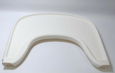 DISPLAY MODEL Stokke Tripp Trapp Baby Set Chair Tray in White Free Shipping