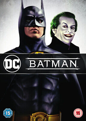 Batman DVD (1998) Michael Keaton, Burton (DIR) cert 15 ***NEW*** Amazing Value