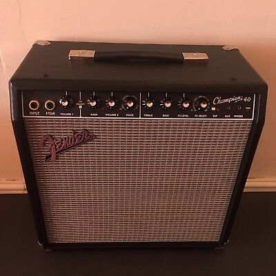 Fender Champion 40 Electric Guitar Combo Amp