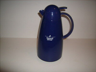 Maxwell House Blue Coffee Carafe *Excellent Shape*