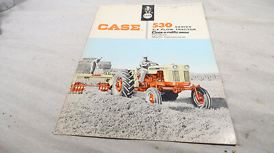 Case 530 Series 3 4 Plow Tractor Case O Matic Drive Pamphlet Booklet