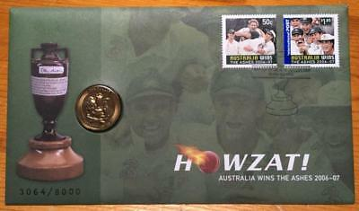 2007 $1 The Ashes Pnc..howzat..australia Regains The Ashes..as New.