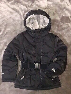 The North Face Girls' Metrolina Black Jacket 6/7 Kid XS, $250 NWT!