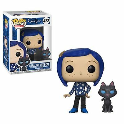 Funko POP! Animation - Coraline: Coraline with Cat #422 (NEW, IN STOCK)