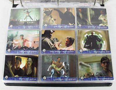 Topps X-Men Movie Trading Cards Lot Marvel The Last Stand Wolverine Orgins 250