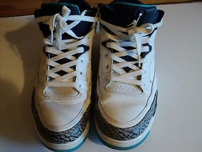 new products 7b493 4204e NIKE AIR JORDAN SON OF LOW HORNETS, WHITE MIDNIGHT 580603-105, Men