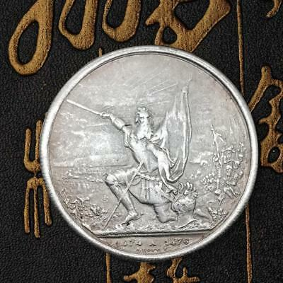 1874 Fighting Angle Commemorative Coins Iron Coin Collection