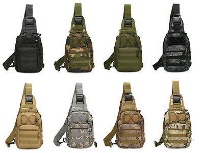 1XMilitary Tactical Backpack Camping Travel Hiking Trekking Outdoor Shoulder Bag