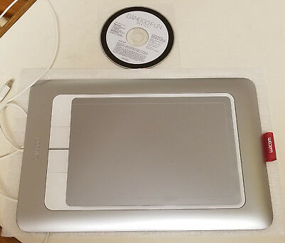 Graphics Tablets/boards & Pens Computers/tablets & Networking Wacom Bamboo Fun Tablet Very Good 7057