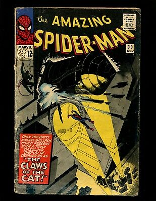 Amazing Spider-Man #30 VG Ditko 1st The Cat Master Planner (Doctor Octopus)