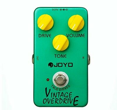 JOYO JF-01 Electric Bass Guitar Effect Pedal Vintage True Bypass Dynamic Compres