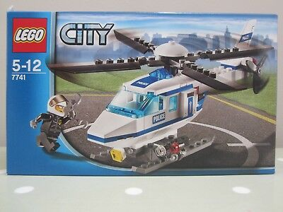 Lego City Helicopter Surveillance 60046 Complete With Instructions