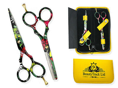 New Professional Hair Cutting Thinning Scissors Shears Hairdressing Titanium kit