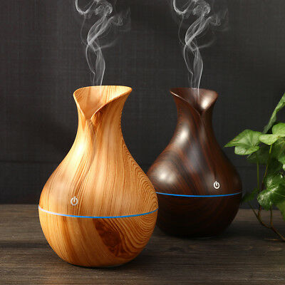 LED Air Aroma Ultrasonic Humidifier Aroma Aromatherapy Essential Oil Diffuser