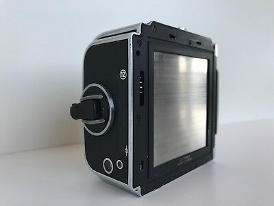 Hasselblad A12 Chrome Magazine Back 120 Film Holder 6x6  matching serial numbers