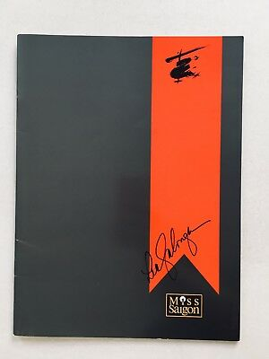 MISS SAIGON Program SIGNED BY LEA SALONGA 1998 Souvenir Brochure