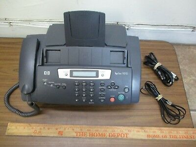 *USED* Hewlett Packard HP FAX 1010 Fax Machine (as pictured) powers on