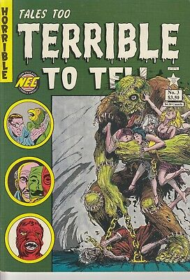 TALES TOO TERRIBLE TO TELL  3 ....1991.... VF/NM .... Bargain!