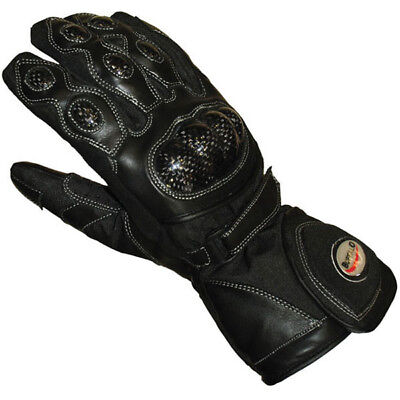Buffalo Storm Motorcycle Gloves, Waterproof Breathable Knuckle protection