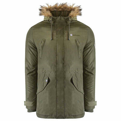 Mens Lambretta Parka Hooded Scooter Carnaby MOD SKA Jacket Coat Sizes S to 4XL