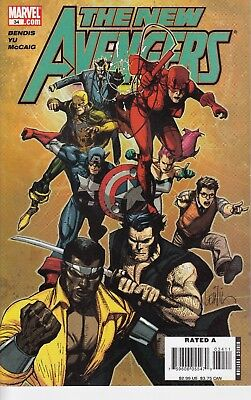 NEW AVENGERS 34...VF/NM...2007...(1st Series)...Bargain!