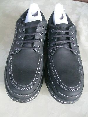 Mens Hush Puppies Volley Victory Smart Lace Up Derby Casual Shoes Size 6