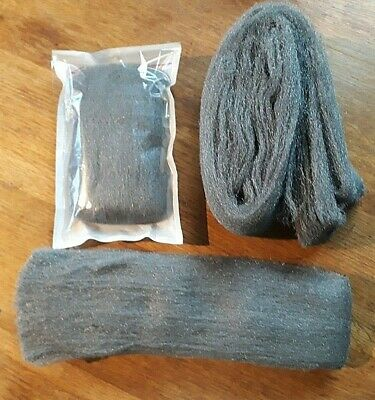 Liberon Steel Wire Wool VARIOUS Grades + lengths available TOP QUALITY