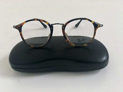 1d87dbf784 Authentic Ray-Ban RX2447VF 5492 49mm Blue Havana Eyeglasses Asian Fit Brand  New