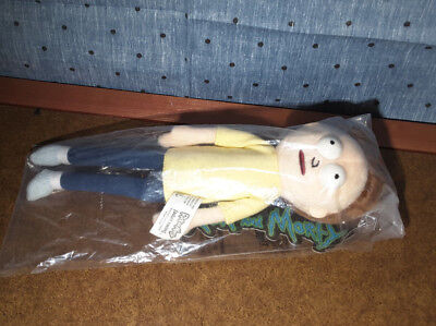 NEW Official Rick and MORTY PLUSH DOLL Jinx 2015, Cartoon Network Adult Swim toy