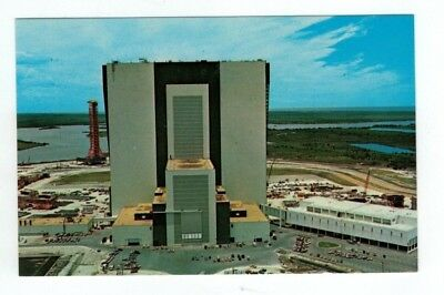 Standard Size NASA Chrome Post Card JFK Space Center
