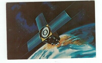 Standard Size NASA Chrome Post Card Improved Tiros Operational Satellite