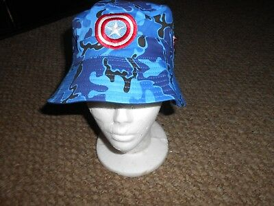Captain America Winter Soldier New Era Bucket Hat Brand New Size Medium 0323.   13.49 Buy It Now 13d 23h. See Details. Nwt Marvel Captain America  Reversible ... 9b47a3df9805